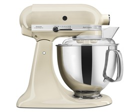 KitchenAid Μίξερ 4,8lt. Almond Cream Artisan Κομπλέ