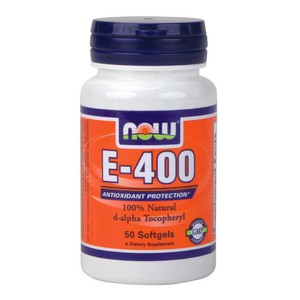 Now vitamin e 400 iu mt  50 softgels