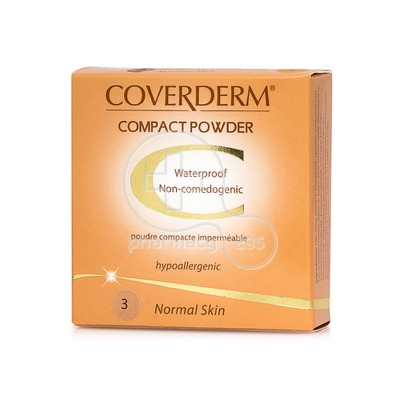 COVERDERM - COMPACT POWDER Normal Skin No3 - 10gr