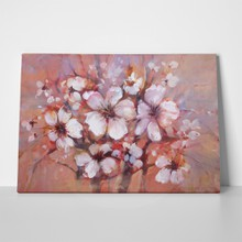 Almonds blossom handmade painting bouquet 404229241 a