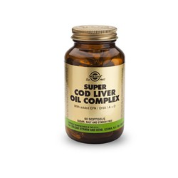 Super Cod Liver Oil Complex  60softgels