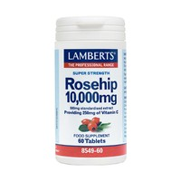 LAMBERTS ROSE HIP 10000MG 60TABS