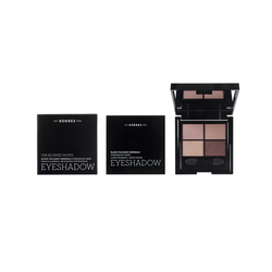 Korres The Blushed Nudes Black Volcanic Minerals Eyeshadow Quad Παλέτα Σκιών Για Τα Μάτια 5g