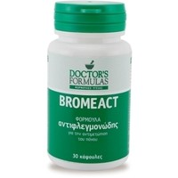 DOCTOR'S FORMULA BROMEACT 30CAPS