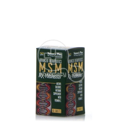 NATURE'S PLUS - MSM RX-Wellness - 60tabs