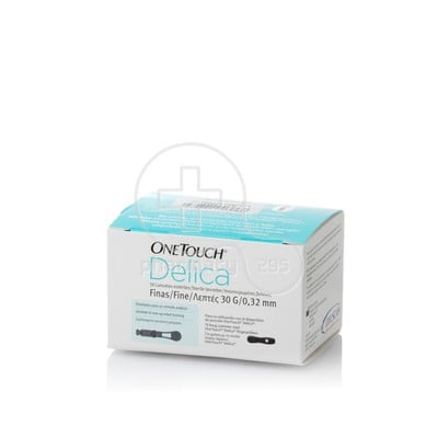 JOHNSON & JOHNSON - ONE TOUCH Delica Λεπτές 30G 0,32mm - 50 βελόνες