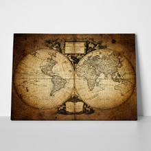 Old world map 1752 117865126 a
