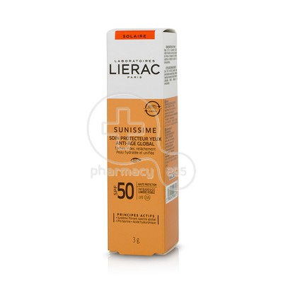LIERAC - SUNISSIME Soin Protecteur Yeux Anti-Age Global SPF50 - 3gr