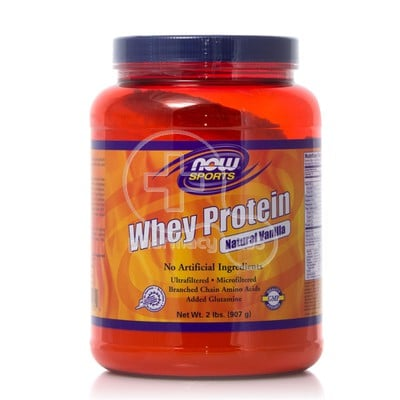NOW - SPORTS WHEY PROTEIN Natural Vanilla - 907gr