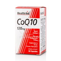 HEALTH AID - CoQ-10 120mg - 30caps