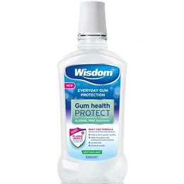 Wisdom Everyday Gum Protection Soothing Mint Mouthwash, 500ml