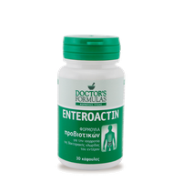 DOCTOR'S FORMULA ENTEROACTIN 30CAPS