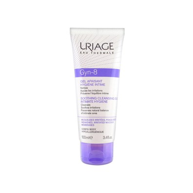 Uriage gyn 8 intimate hygiene soothing cleansing gel 100ml