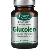 Power Health Platinum Classics Glucolen-Μείωση Σακχάρου 60Caps