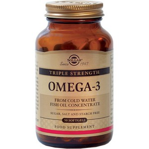 SOLGAR Omega 3 triple strength 50softgels