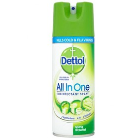 DETTOL ΑΠΟΛΥΜΑΝΤΙΚΟ SPRAY ALL IN ONE SPRING WATERFALL 400ml