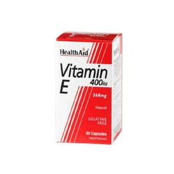 Health Aid Vitamin E 400IU 30caps