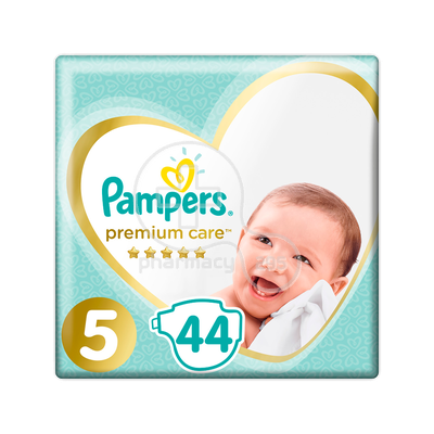 PAMPERS - PROMO PACK PREMIUM CARE No5 (11-18kg) - 44 πάνες
