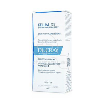 DUCRAY - KELUAL DS Shampooing Traitant (new formula) - 100ml