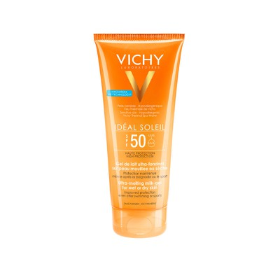 (STOP) VICHY - IDEAL SOLEIL Lait-Gel Ultra Legere SPF50 - 200ml