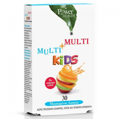 Power Health - Multi+Multi Kids - 30chew.tabs