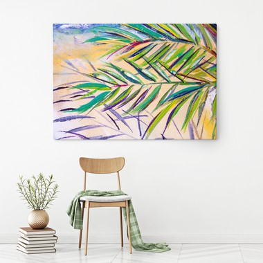 Expressionistic palm tree