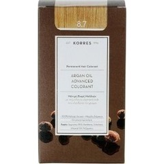Korres Argan Oil Advanced Colorant 8.7 Καραμέλα