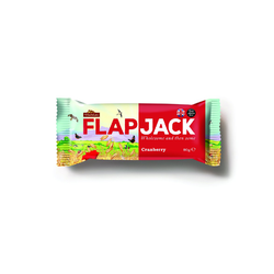 Wholebake Flapjack Cranberry 80gr