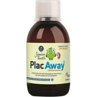 PLAC AWAY JUNIOR TEETH (6+YEARS) MOUTHWASH 250ML