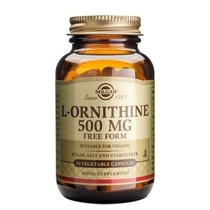 Solgar l ornithine 500mg