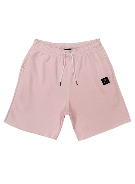 VINYL ART CLOTHING PINK VINYL BASIC SHORTS