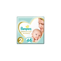 Pampers Premium Care Diapers Size 2 (4-8kg) 68 Diapers