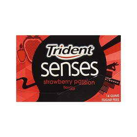 TRIDENT ΤΣΙΚΛΕΣ SENSES STRAWBERRY PASSION