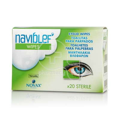 NOVAX PHARMA - NAVI BLEF Wipes - 20τεμ.