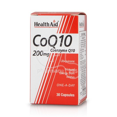 HEALTH AID - CoQ-10 200mg - 30caps