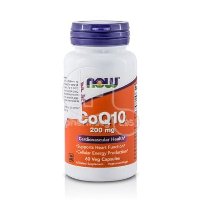 NOW - CoQ10 200mg - 60caps
