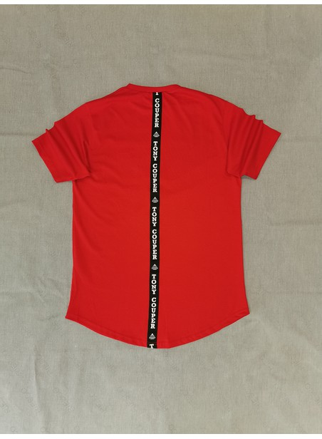 TONY COUPER RED GROSS T-SHIRT