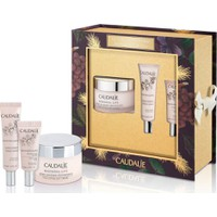 Caudalie Resveratrol Set Face Lifting Soft Cream 50ml & Lift Firming Serum 10ml & Lift Eye Lifting Balm 5ml