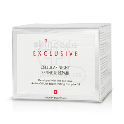 SKINCODE - EXCLUSIVE Cellular Night Refine & Repair - 50ml