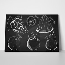 Chalkboard fruits 1105705028 a