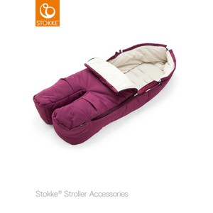Stokke Foot Muff Purple