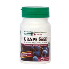 Nature's Plus, Grape Seed 50mg, 30vcaps