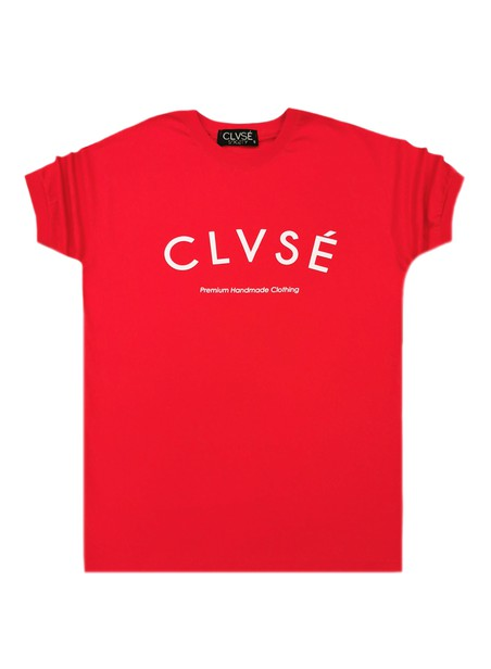 CLVSE SOCIETY RED T-SHIRT 307 PREMIUM