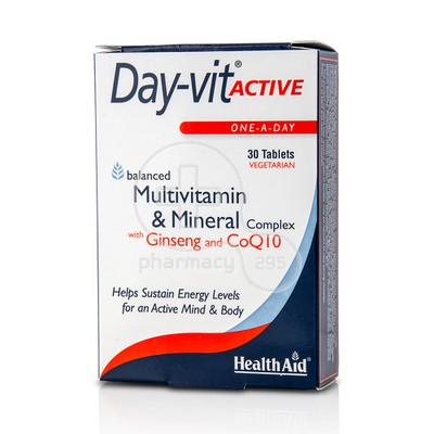 HEALTH AID - Day-Vit Active - 30tabs