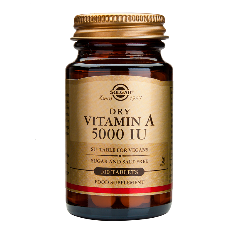 Vitamin A dry 5000IU tablets