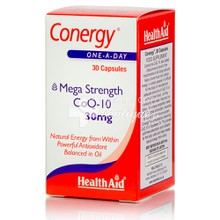 Health Aid CONERGY CoQ10 30mg, 30caps