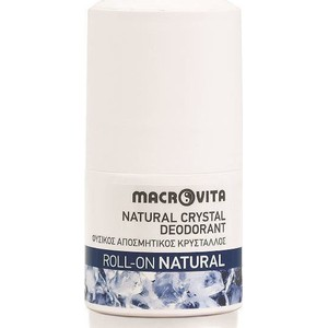 Macrovita natural crystal natural roll on 50ml