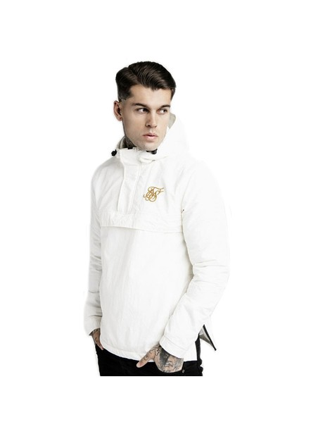 SikSilk Energy Windbreaker – White