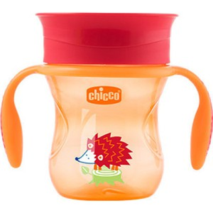Chicco perfect cup 12m  orange