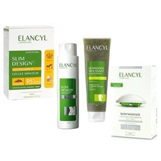 Elancyl Slim Design Caffeine Complex 3D 200ml & Slim Massage Συσκευή Μασάζ + Slimming Concentrate Gel 200ml & Energizing Foaming Scrub 150ml & Slim Design Gellule Minceur 60Caps.